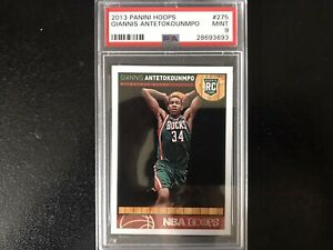 2013-14 Panini NBA Hoops GIANNIS ANTETOKOUNMPO #275 PSA 9 Rookie RC Card