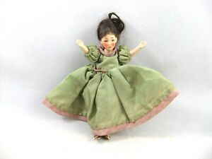 Antique/Vintage Miniature Dolls House Doll, 4.25 Inches