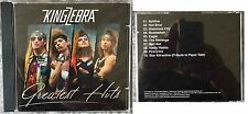 "KING ZEBRA ""Greatest Hits"" Motley Crue Cinderella Kidd Wikkid Kiss Cd Rare"