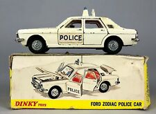 DINKY TOYS -FORD ZODIAC POLICE CAR No. 255- VINTAGE COLLECTORS MODEL CAR -BOXED-