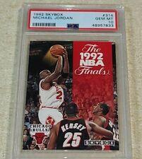 1992-93 Skybox Basketball Michael Jordan #314 PSA 10 HOF