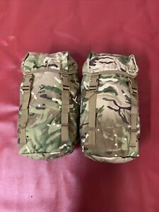 New PLCE Bergen MTP Side Pouches British Army MTP Set of 2)