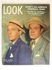 Beautiful 1947 LOOK MAGAZINE with BING CROSBY and BOB HOPE~96 Pages~