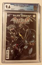 CGC 9.6 NM+ THE BATMAN WHO LAUGHS #1 1ST APPEARANCE IN HIS OWN SERIES FOIL COVER