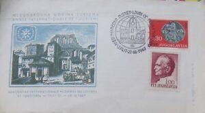 1967 JUGO-SLAVIA COVER MINT .