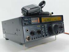 Icom IC-821H Ham Radio Transceiver w/ HM-12 Mic (has some issues) SN 01300