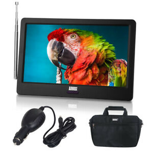 """Portable 9"""" Rechargeable TV Bundle, Caravan Camping Fishing TV, Freeview PVR HD"""