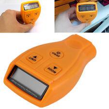 LCD Digital Automotive Coating Ultrasonic Paint Iron Thickness Gauge Meter Tool^