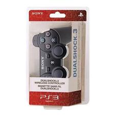 PS3 Dualshock sans fil Bluetooth Gamepad contrôleur pour Play Station 3 Noir