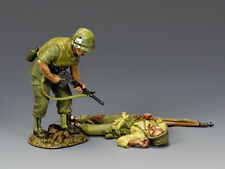 "King and Country VN049 ""Dead or Alive...?"" 1/30 Scale Metal Toy Soldier"