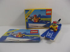 Lego Set 6508 Wave Racer 1990 Speed Boat Racer with original box + instructions.
