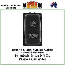 Driving Lights Switch 12V BLUE fit Mitsubishi Triton MN ML Pajero Challenger