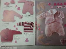 Catalogue tricot  bouton d'or  layette et enfants / n° 16 H