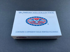 Liberty Falls The American 5 pc Pewter Collection Ah47 in Box