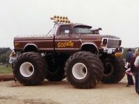 Greenlight PRE-ORDER 1979 Ford F-250 Goliath with 66 Inch Tires 1/18