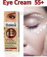 Balea VITAL Anti-Fatigue Eye 15 ml Cream For Mature Skin Age 45 - 55+