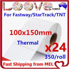 12x Thermal Direct Labels Roll 100 X 150mm Fastway eParcel Startrack Zebra Sato