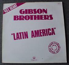 Gibson Brothers, latin america, Maxi Vinyl promo