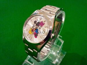 ROLEX OYSTER PRECISION DATE RARE MICKEY+MINNIE SILVER DIAL - VINTAGE STUNNER PX?