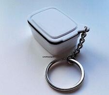 Tupperware Schlüsselanhänger NEU Brotmax 2 Weiß Brotkasten Rarität Tupper