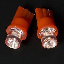 5Stück Glassockel  Rote LED T10 RED W5W Rot 12V Innenbeleuchung für VW Audi BMW