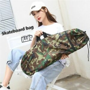 Skateboard Duffel Carry Bag Travel Sport Case Longboard Backpack Storage