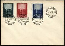 VATICAN 1945 WAR RELIEF FUND FDC? COMPLETE SET DATED 12/9/45 (ID:409/D4064)