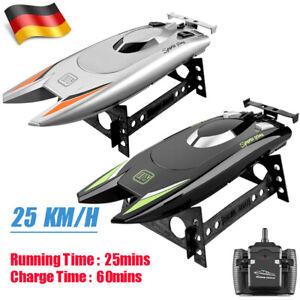 2.4GHz 25 KM/H High Speed RC Boot Ferngesteuertes Rennboot Speedboot Schiff Boat