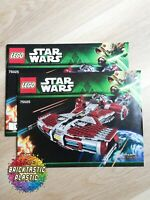 LEGO - INSTRUCTIONS BOOKLET ONLY Jedi Defender-class Cruiser - Star Wars - 75025