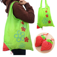 Strawberry Storage Bag Eco Foldable Nylon Reusable Shopping Bag Handbags 1PC