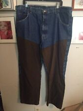 Wrangler Pro Gear Hunting Or Motorcycle Riding Jeans 42X30 Mens   13A