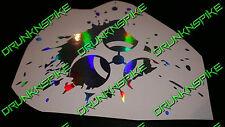 Biohazard Logo Splash Autocollant Autocollant Voiture résident Zombie Ordinateur Portable Tablette Haché
