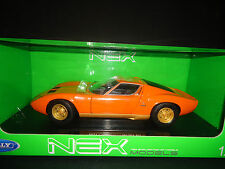 Welly Lamborghini Miura SV Orange 1/18
