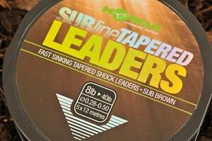 Korda Subline Tapered Shock Leader / Carp Fishing