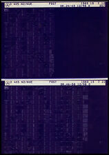 Mercedes O 405 N _ NEW _ Chassis _ 1998 _ SPARE PARTS CATALOG _ MICROFICHE _ Fich _ CATALOG