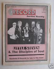 Record Auction Monthly Nov 84 Little Steven