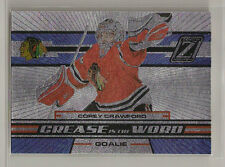 COREY CRAWFORD 10/11 ZENITH CREASE IS THE WORD  INSERT # 10