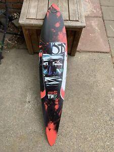 Rare ARBOR Pin GT Dave Kinsey Skateboard Deck Art Long Skateboard Limited Minty