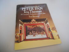 Sach Tom Tierney - Cut & Assemble : Peter Pan Toy Theater (34 pg) DOVER JUVENILE