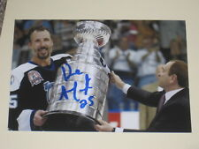 Tampa Bay Lightning DAVE ANDREYCHUK Signed 4x6 Photo NHL HOF AUTOGRAPH 1A