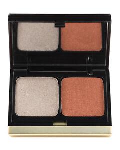 NIB Kevyn Aucoin EyeShadow Duo #204 Gold Frosted Leaf/Auburn Shimmer !