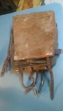 German World War II  Army Pony Hair Backpack Tornister Wehrmacht signed by owner