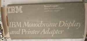 IBM Monochrome Display/Printer Adapter P/N 1501985XM IN BOX
