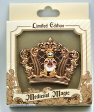 Disneyland Medieval Magic Crown Donald Duck Le 500 Disney Pin 134839 Sold Out