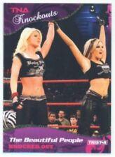 """VELVET SKY & ANGELINA LOVE """"GOLD PARALLEL CARD #20 /10"""" TNA KNOCKOUTS"""
