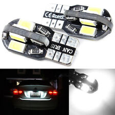 2x Canbus T10 194 168 W5W 5730 SMD 8LED White Car Side Wedge Light Lamp Bulbs US
