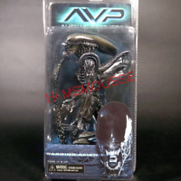 "NECA Aliens Warrior Alien vs Predator AVP Black 7"" Action Figure 1:12 Doll New"