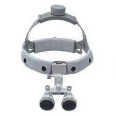 3.5X Headband Binocular Dental Loupes Surgical Loupes DY-108 White