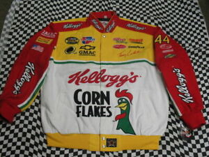 VINTAGE Terry Labonte Kellogg's JH Design NASCAR Jacket -Size Adult X-Large (XL)