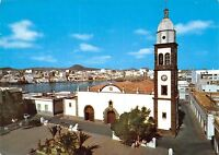Spain Islas Canarias Arrecife Lanzarote Church and puddle of St Gines